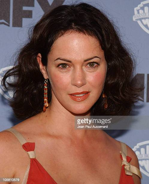 Joanna Going during Nip/Tuck Season Two Premiere Arrivals at Paramount Theatre in Los Angeles California United States