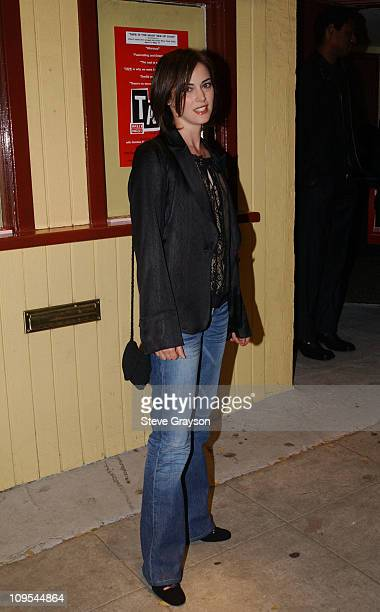 Joanna Going during The Los Angeles Opening of the OffBroadway Play Tape at The Coast Playhouse in West Hollywood California United States