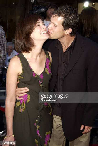 Joanna Going Dylan Walsh during Blood Work Premiere at Steven J Ross Theater in Burbank California United States