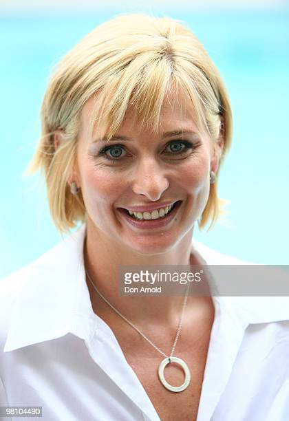 Joanna Griggs poses during the nominations announcement for the 52nd TV Week Logie Awards at The Ivy on March 29 2010 in Sydney Australia