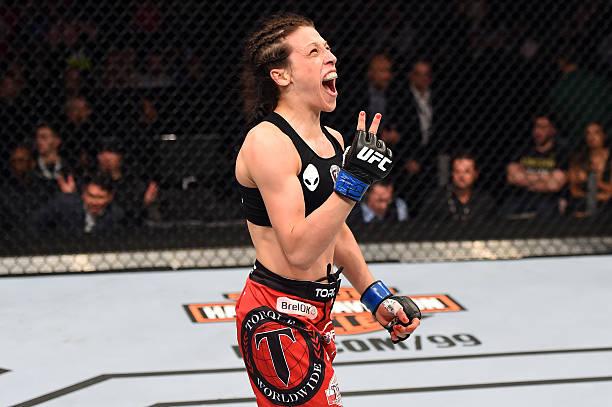 UFC 185: Esparza V Jedrzejczyk Wall Art