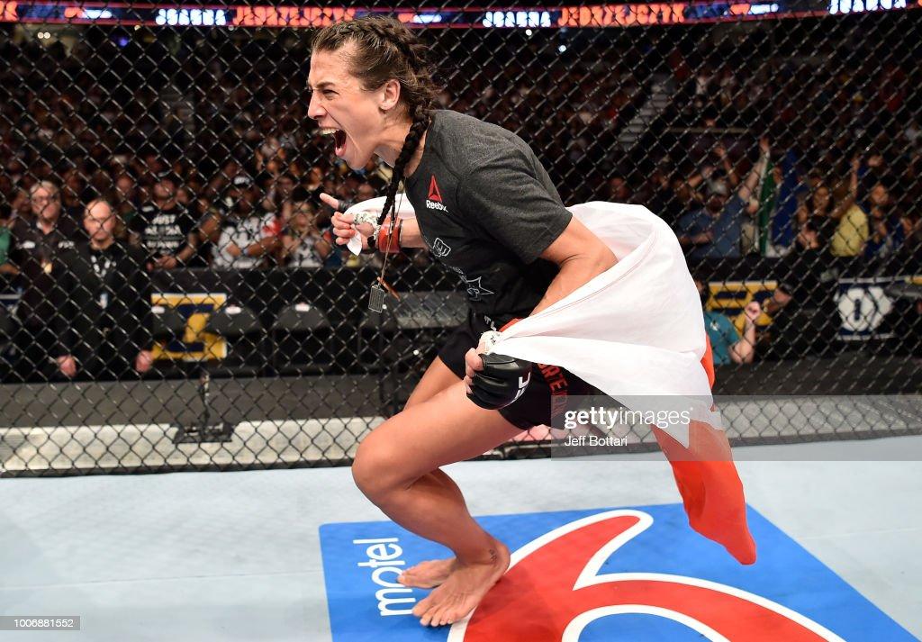 UFC Fight Night: Jedrzejczyk v Torres : News Photo