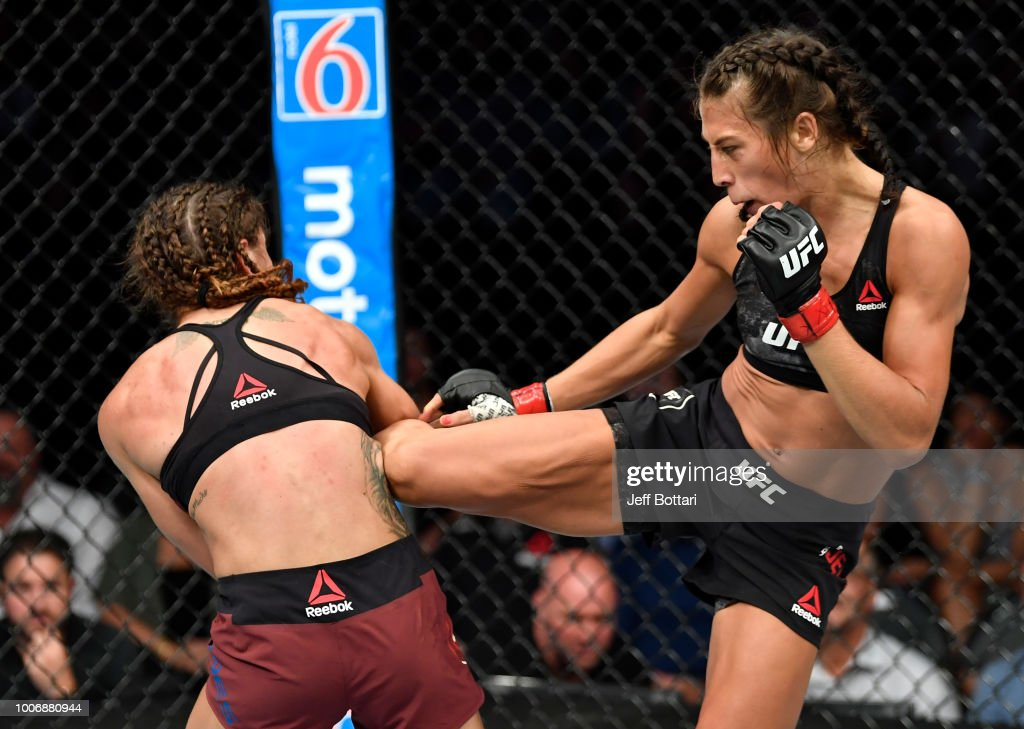 UFC Fight Night: Jedrzejczyk v Torres : News Photo