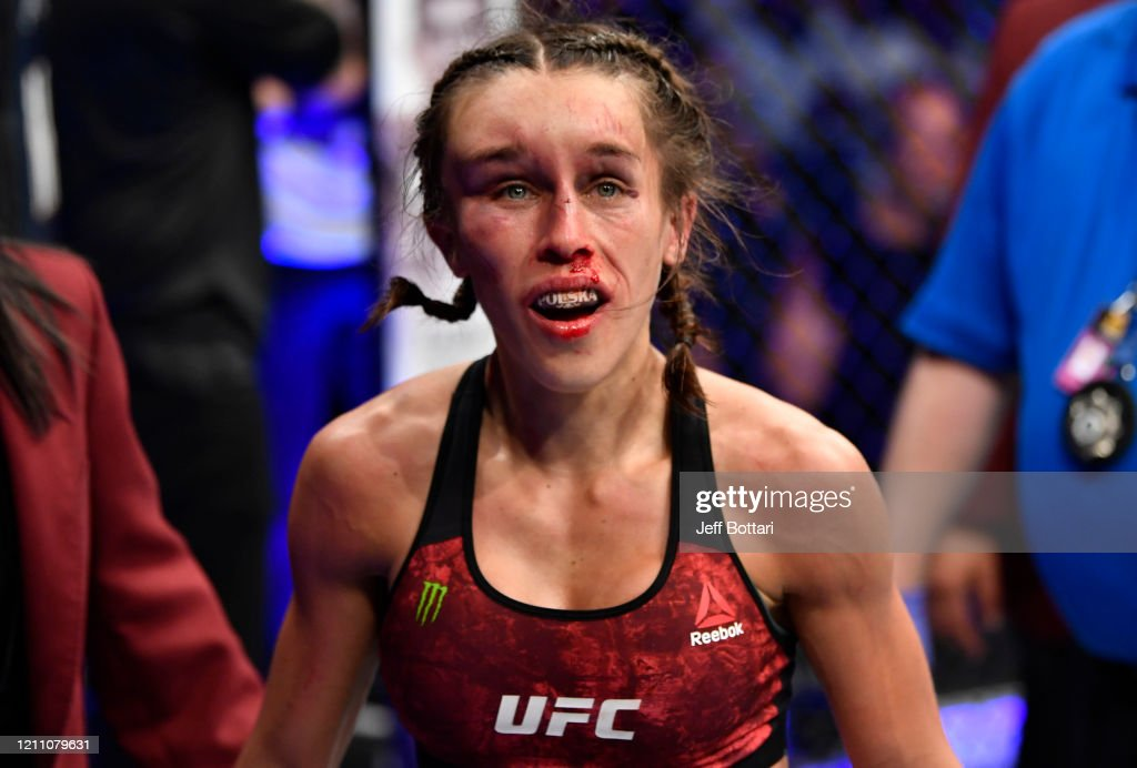 UFC 248: Zhang v Jedrzejczyk : News Photo