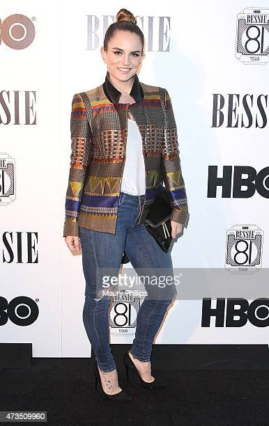 Joanna Jo Jo Levesque arrives at the HBO Bessie 81 Tour in LA at The Millwick on May 14 2015 in Los Angeles California