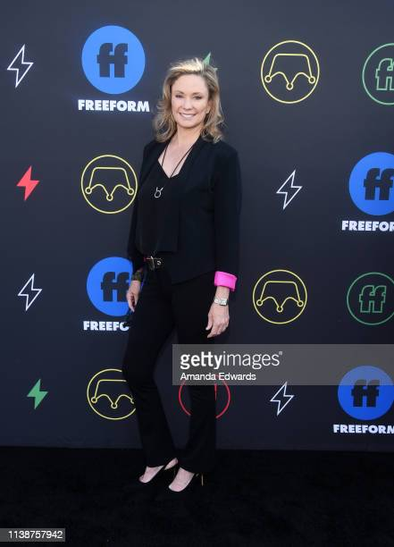 Joanna Johnson arrives at the 2nd Annual Freeform Summit at Goya Studios on March 27, 2019 in Los Angeles, California.