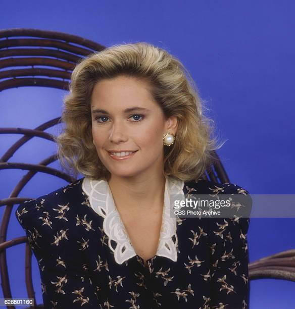 Joanna Johnson as Caroline Spencer Forrester . Image dated 1987.