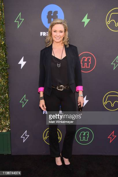 Joanna Johnson attends the 2nd Annual Freeform Summit at Goya Studios on March 27, 2019 in Los Angeles, California.