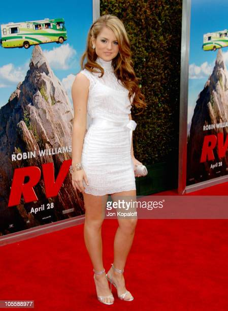 Joanna JoJo Levesque during RV Los Angeles Premiere Arrivals at Mann Village Theatre in Westwood California United States