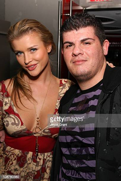 Joanna Krupa and Eli Mizrahi during Eli Mizrahi Birthday Bash at GSpa Hotel Gansevoort in New York City New York United States