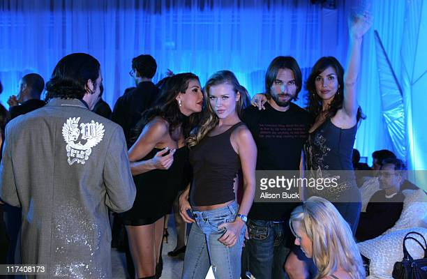 Joanna Krupa and guests during 11th Victoria's Secret Fashion Show After Party for Level Vodka at Roosevelt Hotel in Hollywood CA United States