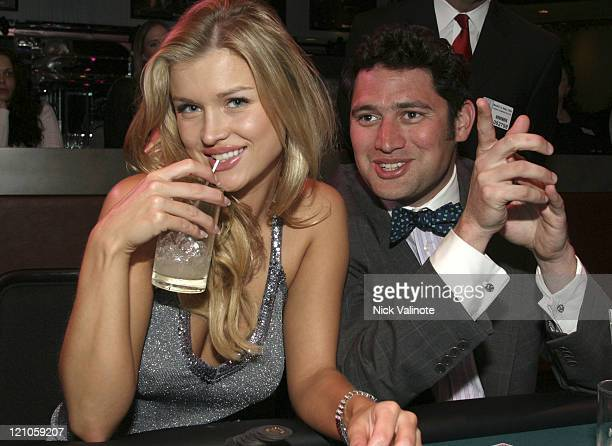 """Joanna Krupa and Raj Bhatka from """"The Apprentice"""" during Trump World Magazine Party with Cast Members of """"The Apprentice"""" at The Wave at Trump Marina..."""