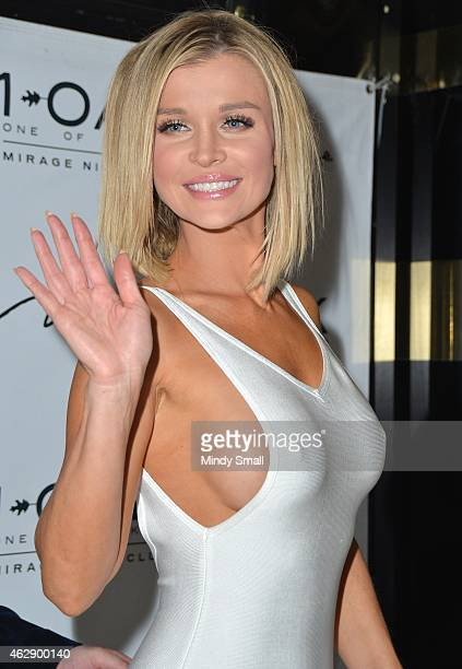 Joanna Krupa arrives at 1 OAK Nightclub inside the Mirage Hotel Casino on February 6 2015 in Las Vegas Nevada