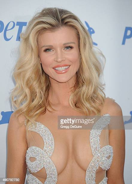 Joanna Krupa arrives at PETA's 35th Anniversary Party at Hollywood Palladium on September 30 2015 in Los Angeles California