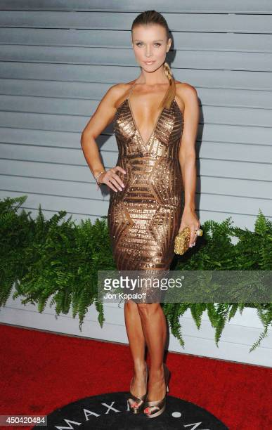 Joanna Krupa arrives at the MAXIM Hot 100 Celebration Event at Pacific Design Center on June 10 2014 in West Hollywood California