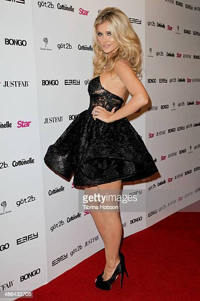 Joanna Krupa attends Star Magazine's 'Hollywood Rocks' party 2014 at SupperClub Los Angeles on April 23 2014 in Los Angeles California