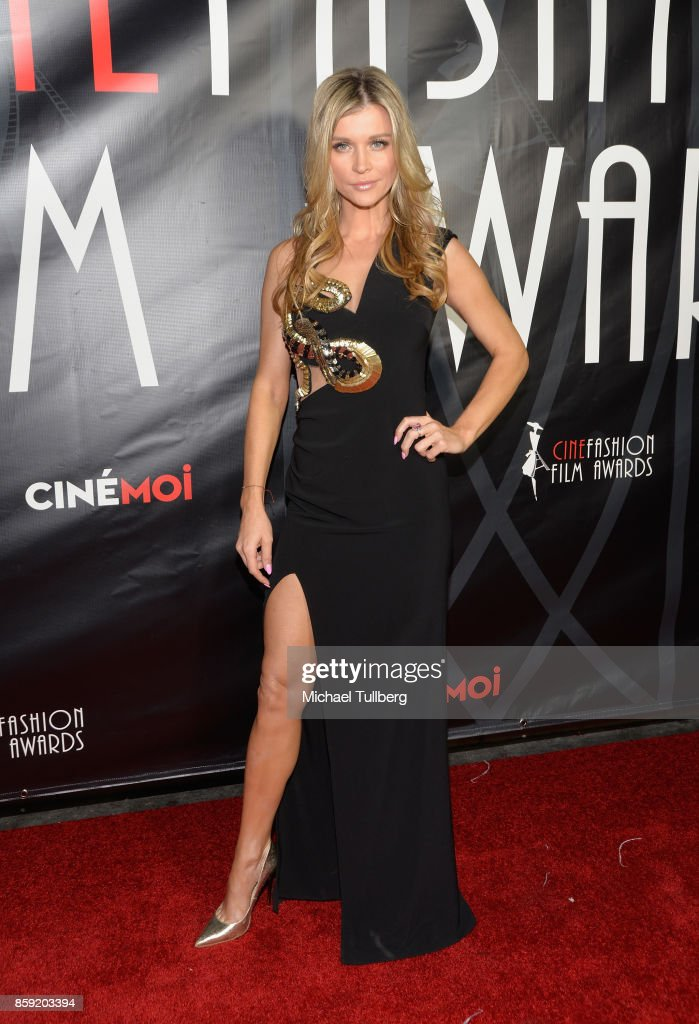 Joanna Krupa attends the 4th Annual CineFashion Film Awards at El Capitan Theatre on October 8, 2017 in Los Angeles, California.