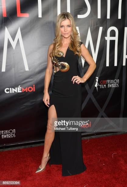 Joanna Krupa attends the 4th Annual CineFashion Film Awards at El Capitan Theatre on October 8 2017 in Los Angeles California