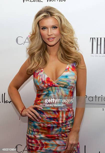 Joanna Krupa attends the Catwalk for Charity 2014 event at JW Marriott Marquis on June 8 2014 in Miami Florida