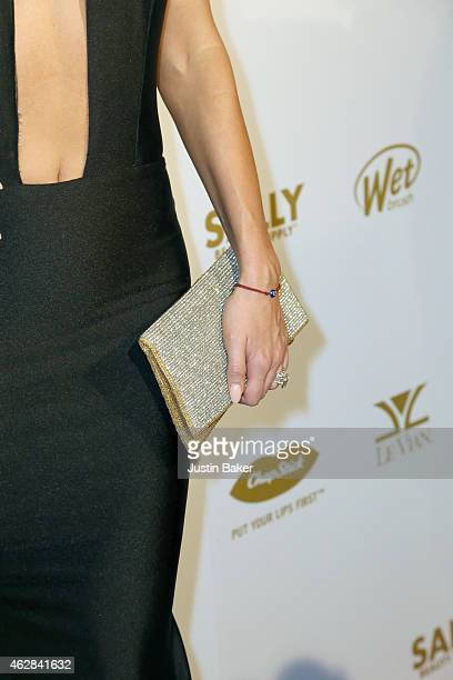 Joanna Krupa attends the OK 2015 Pre GRAMMY Party at Lure on February 5 2015 in Hollywood California