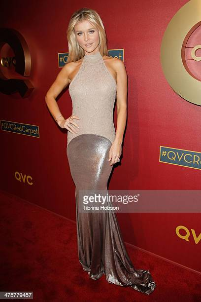 Joanna Krupa attends the QVC 5th annual red carpet style event at The Four Seasons Hotel on February 28 2014 in Beverly Hills California