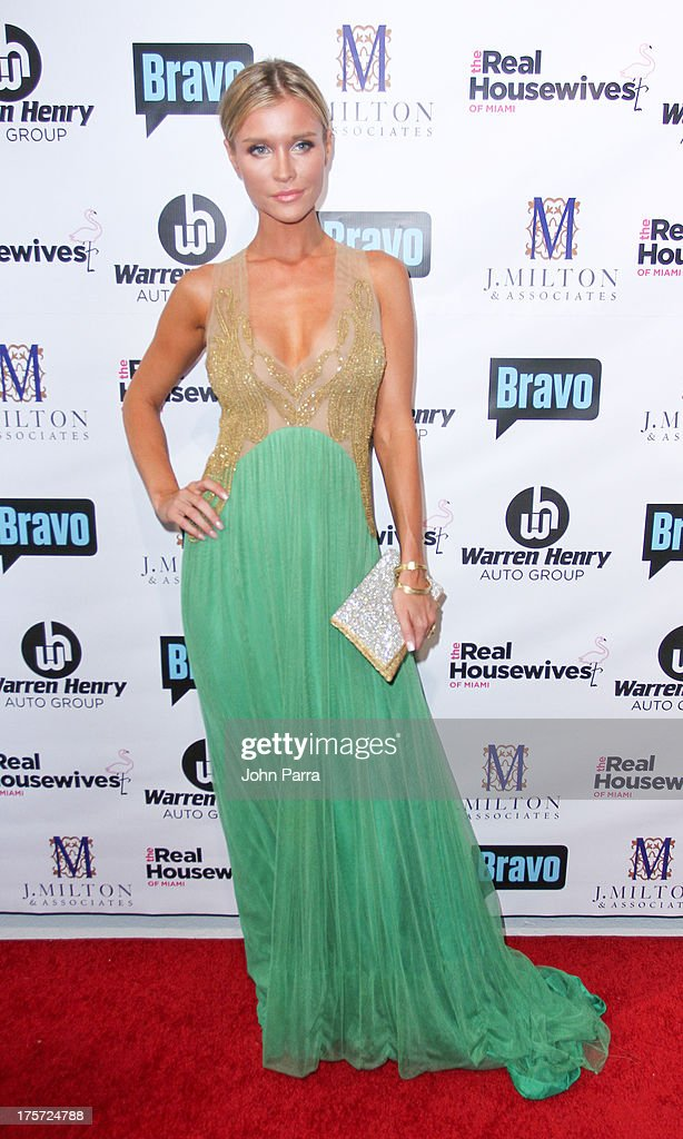 Joanna Krupa attends The Real Housewives of Miami Season 3 Premiere Party on August 6, 2013 in Miami, Florida.