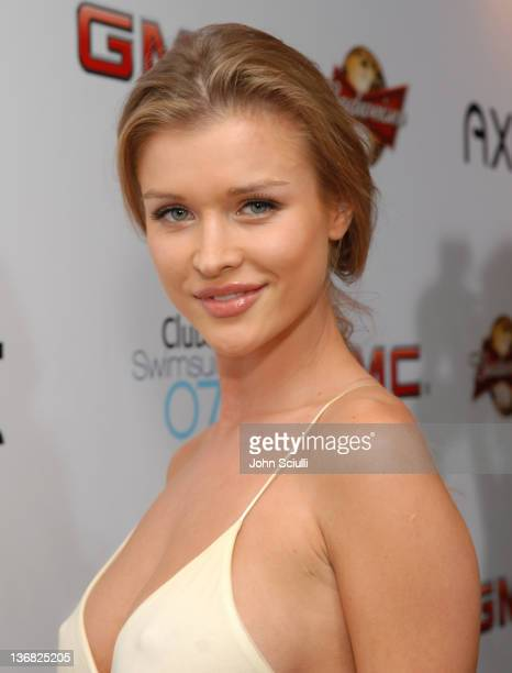 Joanna Krupa during 2007 Sports Illustrated Swimsuit Issue Red Carpet at Pacific Design Center in Los Angeles California United States