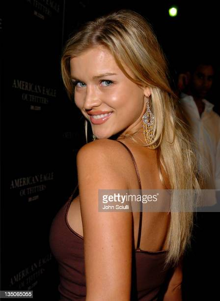 Joanna Krupa during American Eagle Outfitters Rocks Los Angeles with a Back to School Tailgate Party Red Carpet at Hollywood Lot in Hollywood...