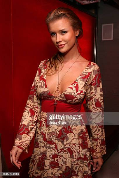 Joanna Krupa during Eli Mizrahi Birthday Bash at GSpa Hotel Gansevoort in New York City New York United States