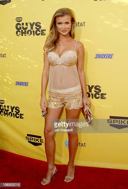 Joanna Krupa during First Annual Spike TV's Guys Choice Arrivals at Radford Studios in Studio City California United States