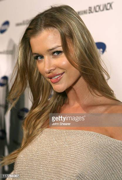 Joanna Krupa during Jimmy Kimmel Hosts the Launch of The Samsung BlackJack Red Carpet at Boulevard3 in Hollywood California United States