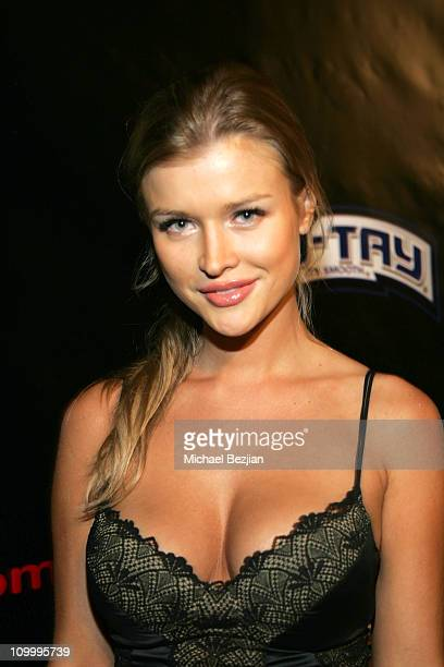 Joanna Krupa during Lingerie Bowl IV KickOff Party at Les Deux in Los Angeles California United States