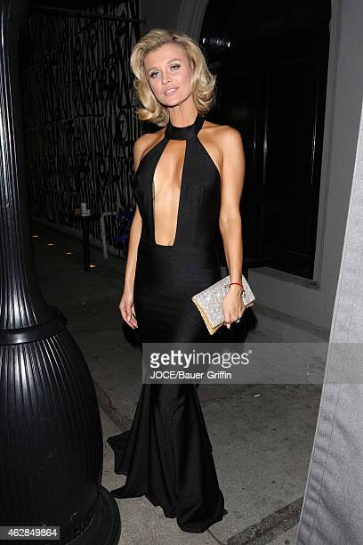 Joanna Krupa is seen at Craig's restaurant on February 05 2015 in Los Angeles California