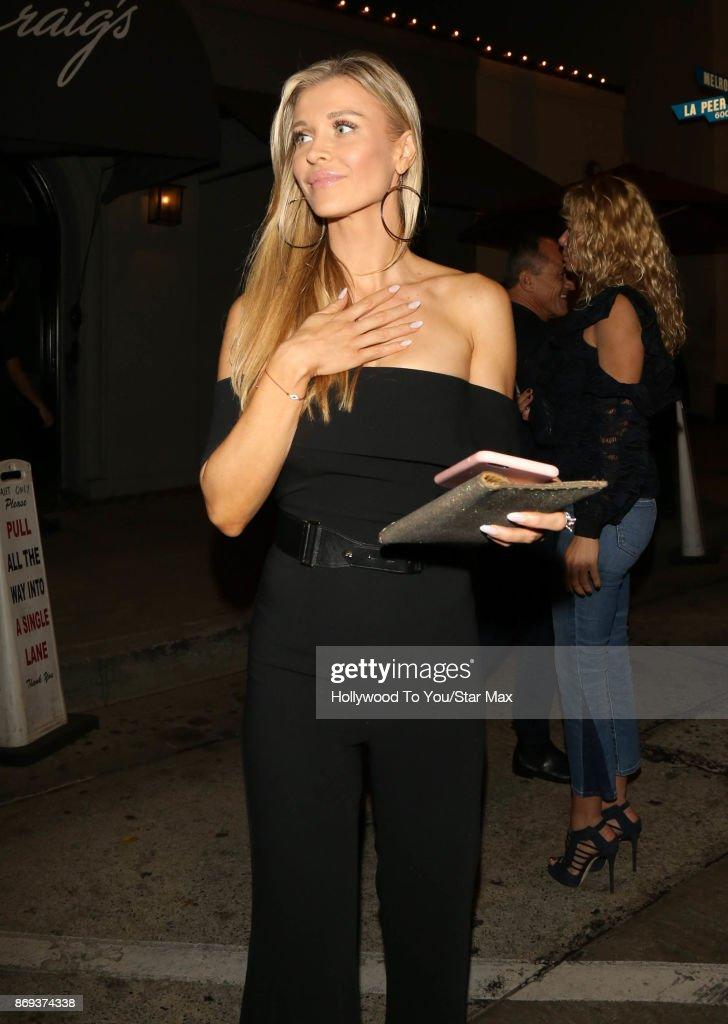 Joanna Krupa is seen on November 1, 2017 in Los Angeles, CA.