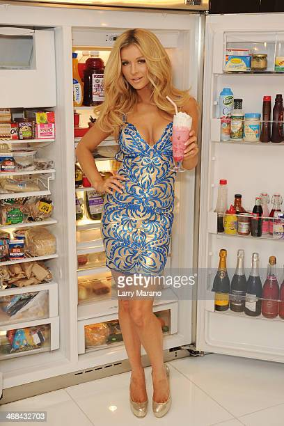 Joanna Krupa Shoots For Holt Spring/Summer 2014 Behind The Scenes on February 10 2014 in Aventura Florida