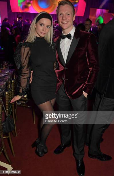 Joanna Kuchta and Patrick Gibson attend the after party of the 65th Evening Standard Theatre Awards in association with Michael Kors at the London...