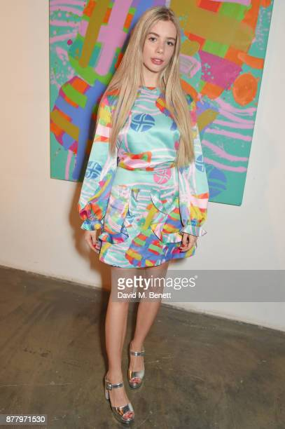 Joanna Kuchta attends an intimate dinner hosted by Henry Holland and Andrew Nugent to celebrate the House of Holland Resort 18 collection and Bird In...