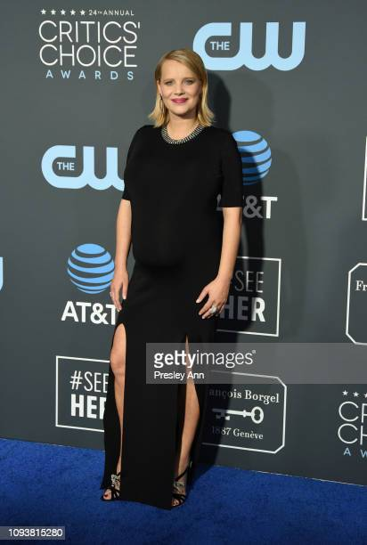 Joanna Kulig at The 24th Annual Critics' Choice Awards at Barker Hangar on January 13, 2019 in Santa Monica, California.