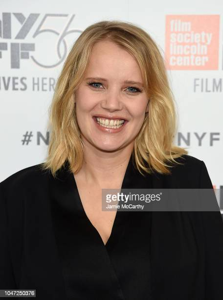 "Joanna Kulig attends 56th New York Film Festival - ""Cold War"" screening at Alice Tully Hall, Lincoln Center on October 7, 2018 in New York City."