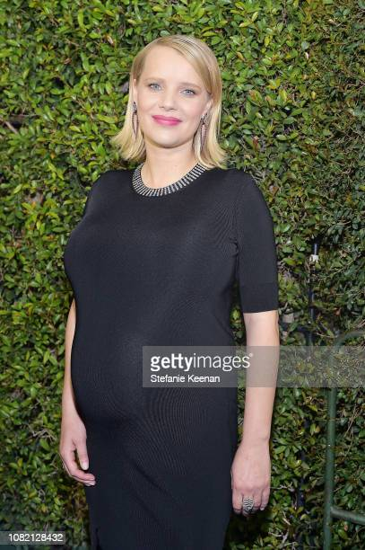 Joanna Kulig attends the 24th annual Critics' Choice Awards at Barker Hangar on January 13, 2019 in Santa Monica, California.