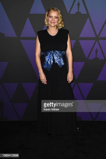 Joanna Kulig attends the Academy of Motion Picture Arts and Sciences' 10th annual Governors Awards at The Ray Dolby Ballroom at Hollywood & Highland...