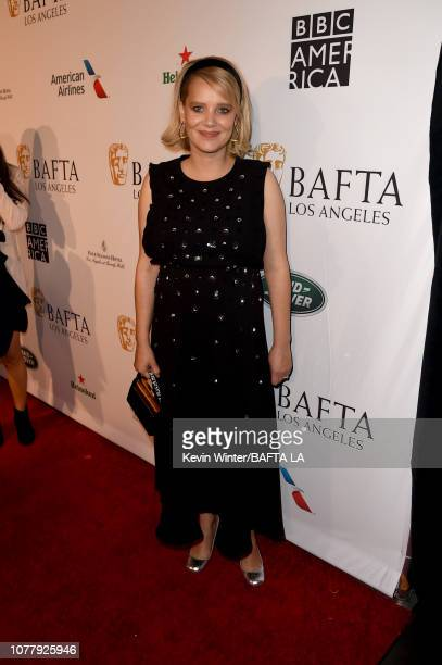 Joanna Kulig attends The BAFTA Los Angeles Tea Party at Four Seasons Hotel Los Angeles at Beverly Hills on January 5, 2019 in Los Angeles, California.