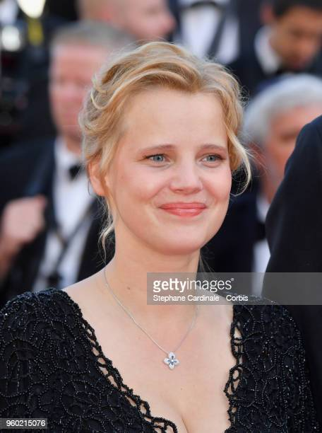 "Joanna Kulig attends the screening of ""The Man Who Killed Don Quixote"" and the Closing Ceremony during the 71st annual Cannes Film Festival at Palais..."
