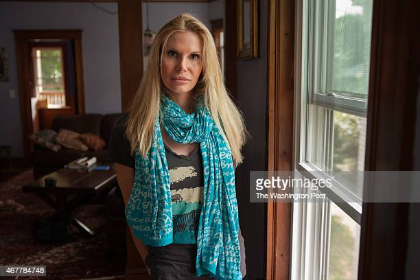FILE Joanna Leigh at home in the Jamaica Plain section of Boston MA on Wednesday September 25 2013 Leigh is incapacitated by traumatic brain injury...