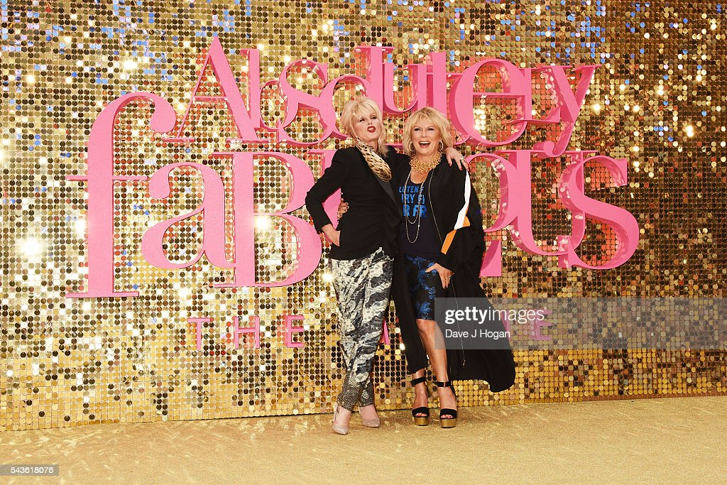 """Absolutely Fabulous: The Movie"" - World Premiere - VIP Arrivals : News Photo"