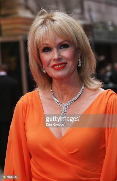 Joanna Lumley arrives for the British Academy Television Awards 2008 at The Palladium on April 20 2008 in London England