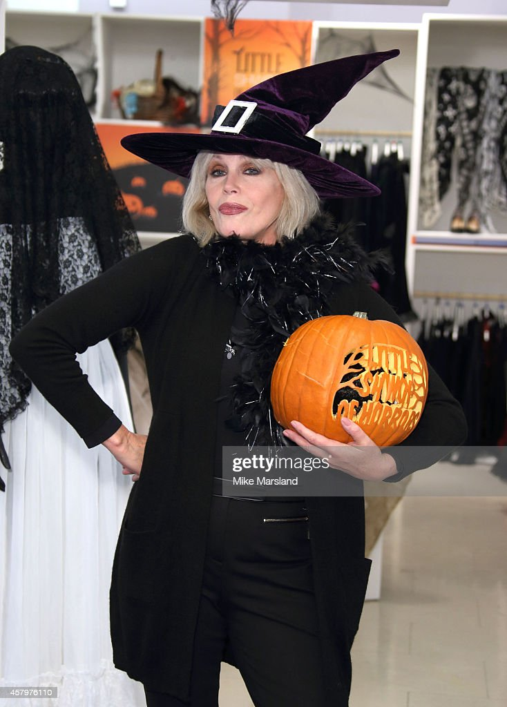 Joanna Lumley Opens Marks And Spencer Little Shwop Of Horrors