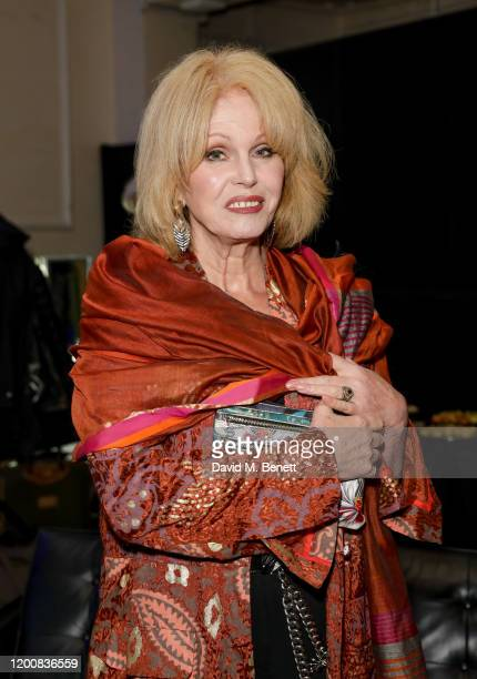 Joanna Lumley attends Love Letters Live in support of Help Refugees at Shoreditch Town Hall on February 14 2020 in London England