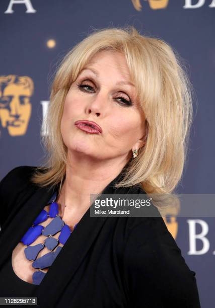 Joanna Lumley attends the BAFTA Film Gala at the The Savoy Hotel ahead of the EE British Academy Film Awards this Sunday on February 08 2019 in...