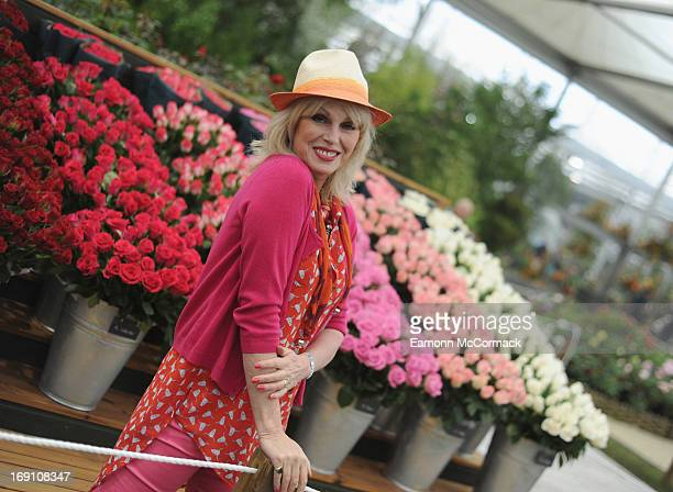 Joanna Lumley attends the Chelsea Flower Show press and VIP preview day at Royal Hospital Chelsea on May 20, 2013 in London, England.